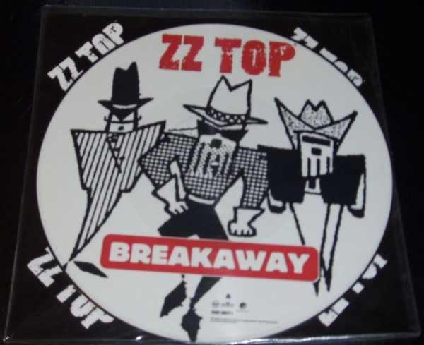 ZZ TOP - Breakaway / Mary's - Maxi 45T