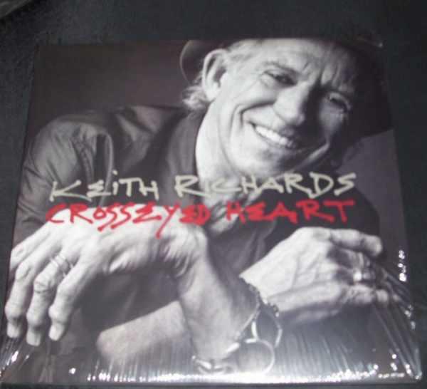 RICHARDS,  KEITH - Crosseyed Heart - LP
