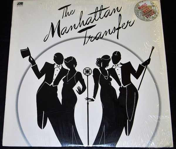MANHATTAN TRANSFER - Self Titled The Manhattan Transfer - LP