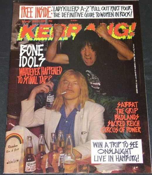 KERRANG MAGAZINE - No,. 240 May 27,89 - Magazine