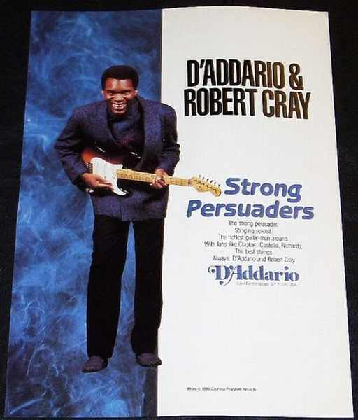 CRAY,  ROBERT - D'Addario Strong Persuaders - Others