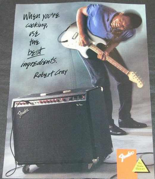 CRAY,  ROBERT - Fender Twin Magazine Ad - Others