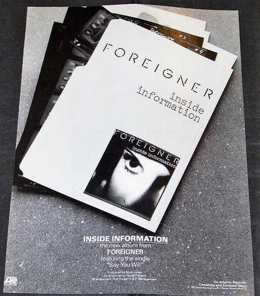 FOREIGNER - Inside Information - Others
