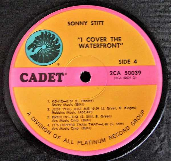 STITT,  SONNY - I Cover The Waterfront - Drink Coaster