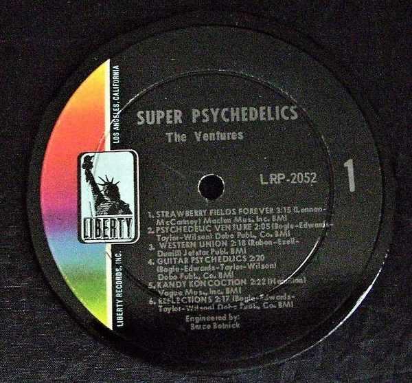 VENTURES - Super Psychedelics - Drink Coaster