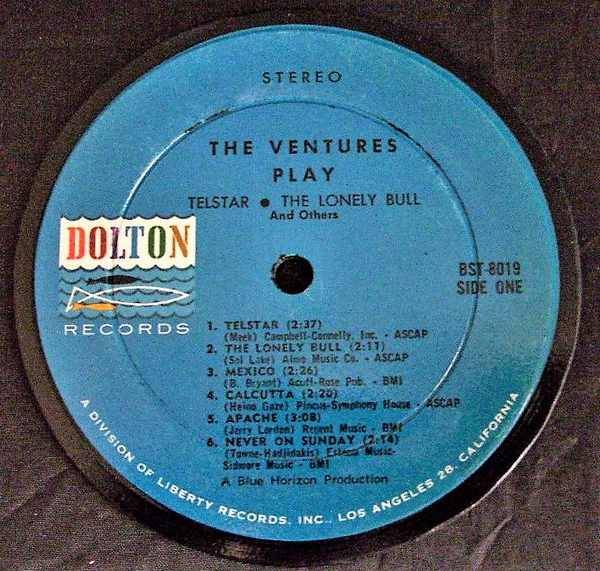 VENTURES - Ventures Play Telstar - Drink Coaster