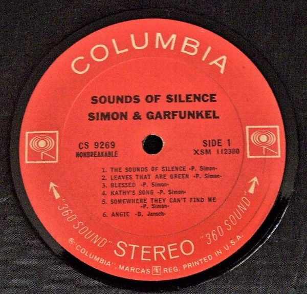 SIMON & GARFUNKEL - Sounds of Silence - Drink Coaster