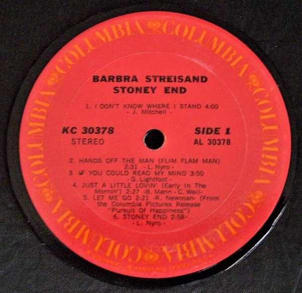 STREISAND,  BARBRA - Stoney End - Drink Coaster
