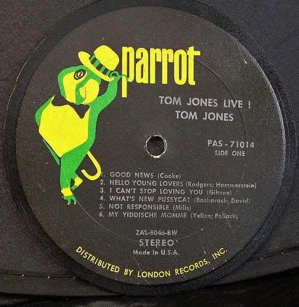 JONES,  TOM - Tom Jones Live - Drink Coaster