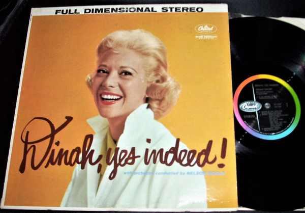 SHORE,  DINAH - Dinah Yes Indeed - LP