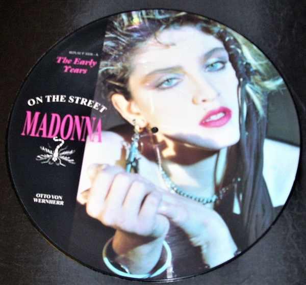 MADONNA - On The Street - Maxi 45T