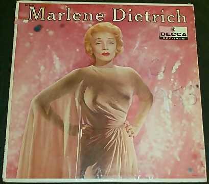 DIETRICH,  MARLENE - Self Titled - 33T