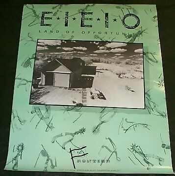 E I E I O - Land Of Opportunity - Poster / Affiche