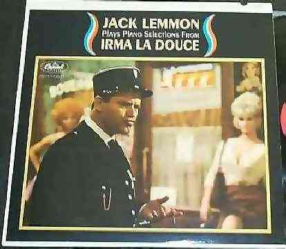 LEMMON,  JACK - Plays Piano Selections From Irma La Douce - 33T