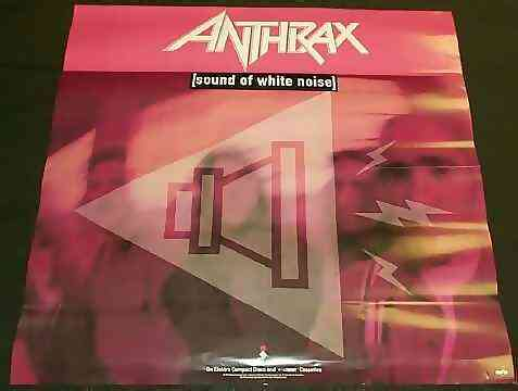 Anthrax - Sound Of White Noise - Poster / Affiche